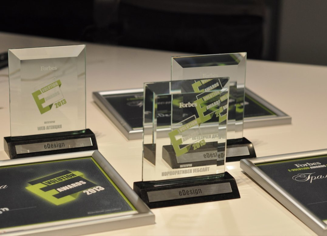 eDesign е голeмият победител в дигиталните награди на Forbes за 2013-та