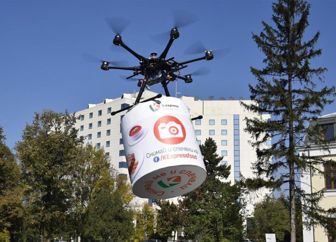 eDesign реализира първата по рода си маркетинг кампания с дрони в България