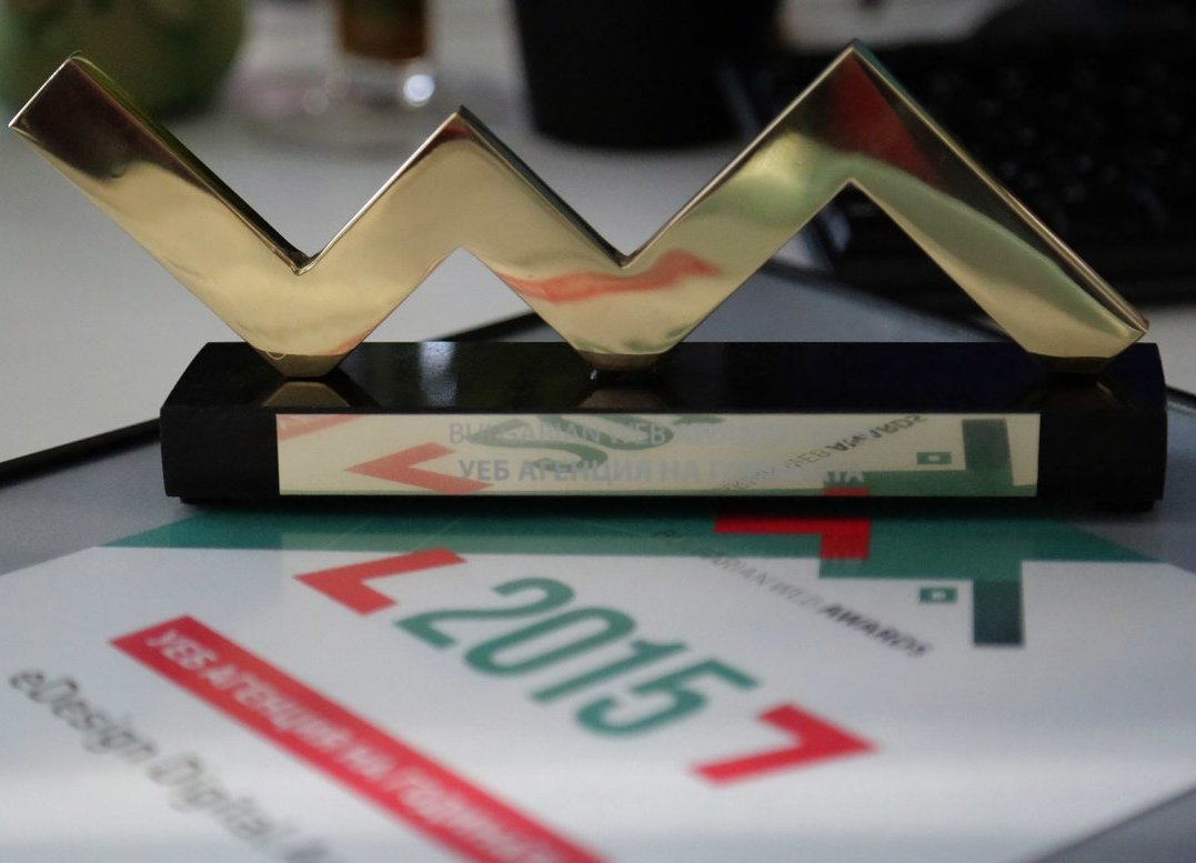 eDesign отново стана уеб агенция на годината