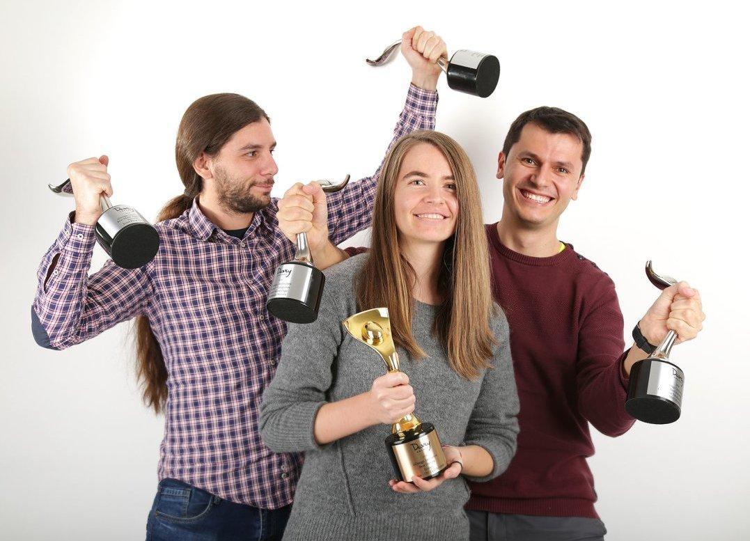eDesign с 5 награди на един от най-престижните конкурси за web дизайн Davey